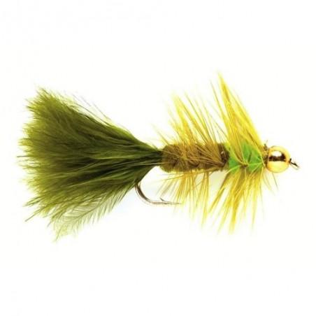 G/N Woolly Bug Olv/Grn
