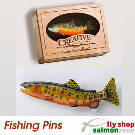 Golden Trout pin