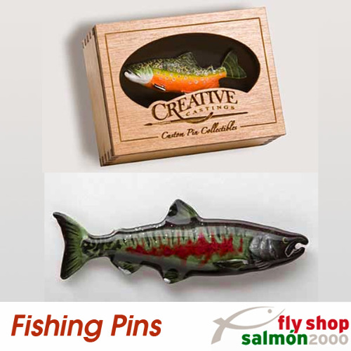fishing pin salmon chum