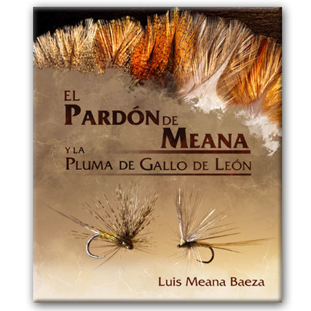 Libro de pesca Pardon de meana y pluma de gallo de León