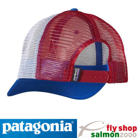 Gorra Patagonia Live Simply Tent Life Trucker Hat - blue / white