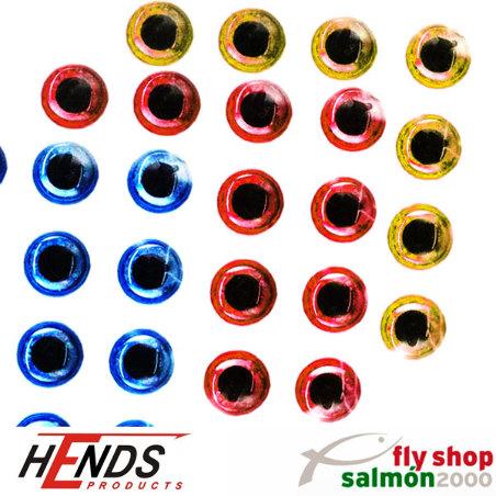 ojos 3d adhesivos holograficos epoxy eyes