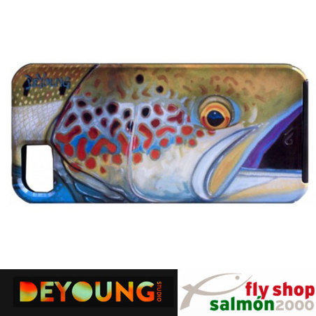 Funda Deyoung iPhone 5 case Atlantic Salmon