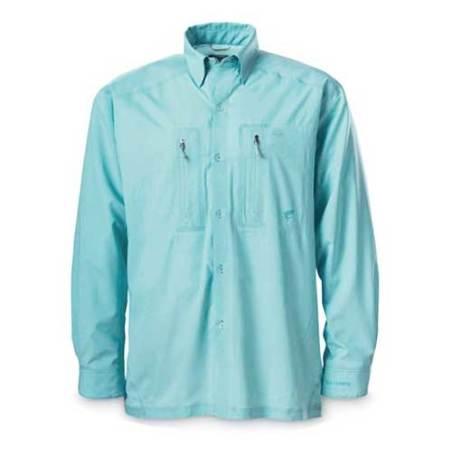 Camisa Simms Ultralight aqua