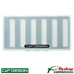 C&F Plus One MSF Fly Case for Nymph- 6 Rows - P1-6
