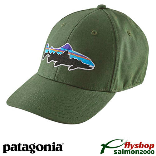 Gorra Patagonia Fitz Roy Trout Stretch Fit