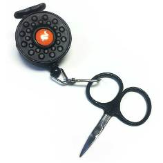 Guideline Pin On Reel with Scissors