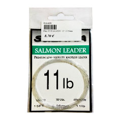 "Bajo de linea Scierra Salmon 15"" - 11lb - 0,28mm"