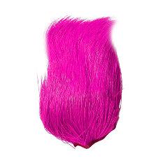 Deer Belly Hair Dyed pink