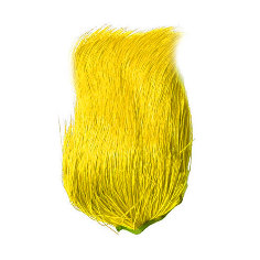 Deer Belly Hair Dyed over yelow