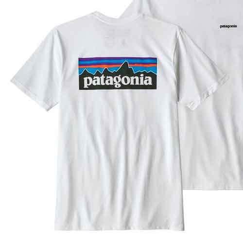 Camiseta Patagonia blanca