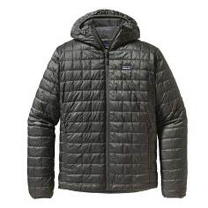 Patagonia Men's Nano Puff Hoody forge grey