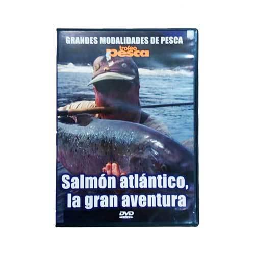 Salmon atlantico trofeo pesca
