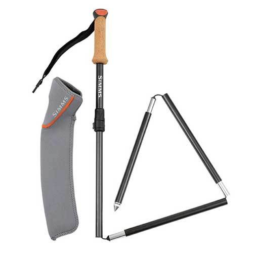Simms Pro Wading Staff carbono
