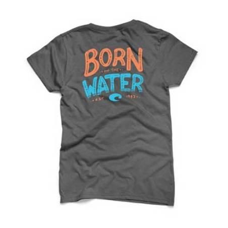 Camiseta Costa Worn on the Water charcoal - talla S
