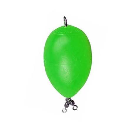 Buldo bombeta flotador verde