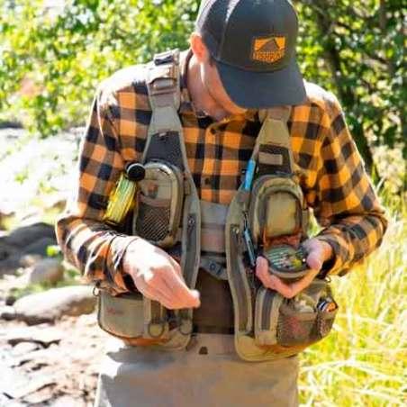 Chaleco Fishpond Sagebrush Mesh