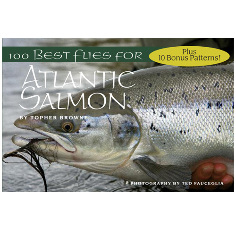Libro de las mejores moscas del  mundo - 100 Best Flies For Atlantic Salmon Book