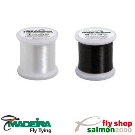 Hilo especial Madeira extrafino y transparente de nylon, perfecto para  una gran variedad de aplicaciones.
