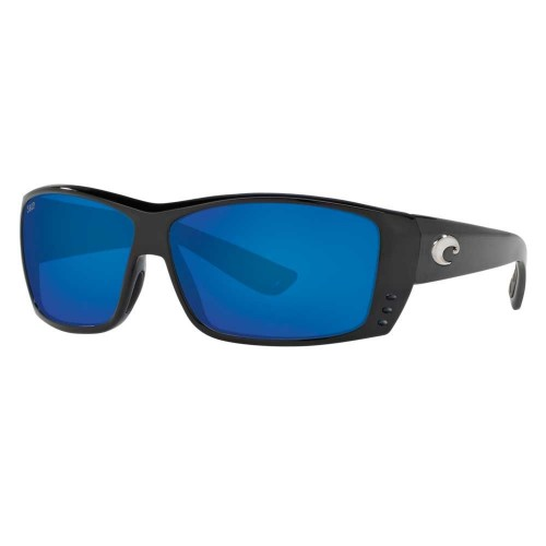 Costa Cat Cay Shiny Black 580G blue mirror