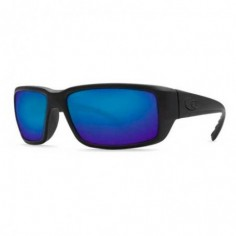 Costa Fantail Matte Black 580G blue mirror
