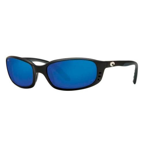 Costa Brine Matte Black 580G blue mirror