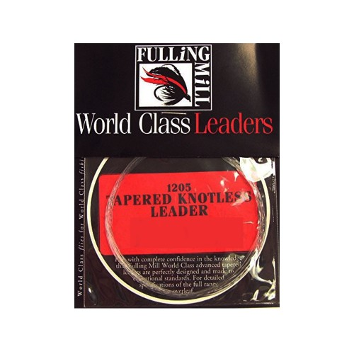 Tapered Knotless Leaders Fulling Mill