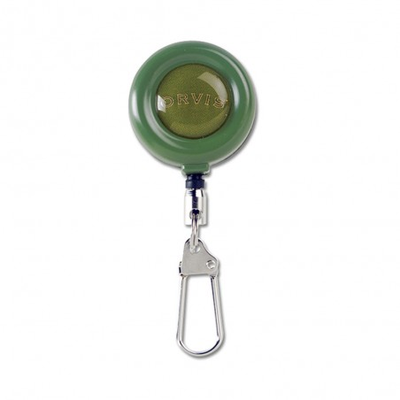Wire Cord Zinger clip on retractor