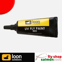 Reparador moscas LOON UV paint red