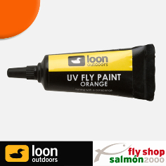 Reparador moscas LOON UV paint orange,Reparador moscas, reparador, LOON UV, paint orange,