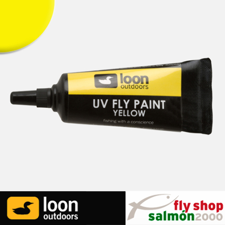 Reparador moscas LOON UV paint yelow