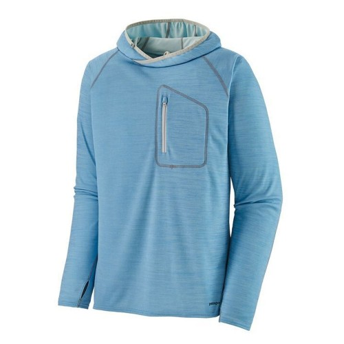 Sunshade Thechnical Patagonia Hoody blue