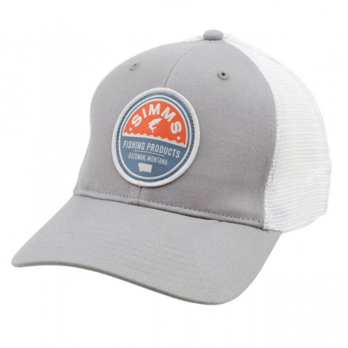 Patch Trucker Simms Cap boulder
