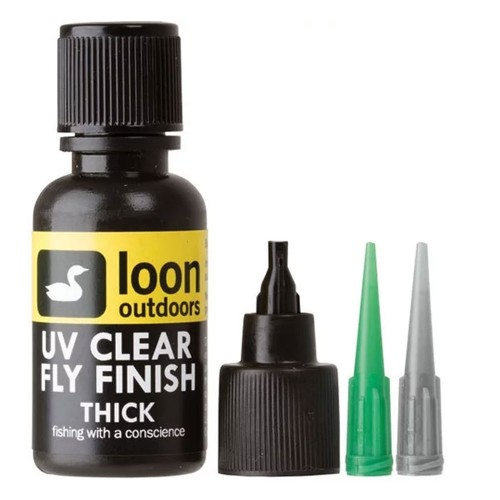 UV clear fly finish thick Loon