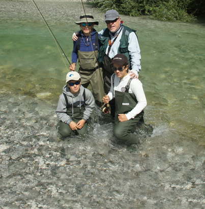 FAMILY FISHING COURSE
